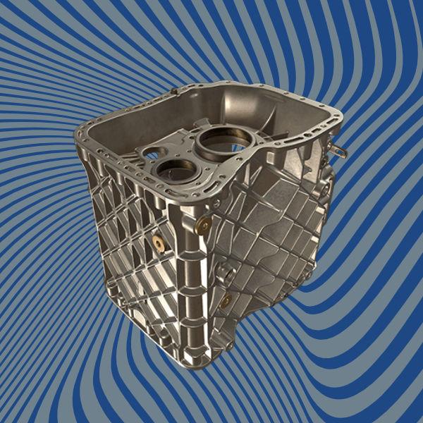 Dual-clutch-gearbox 3D scan