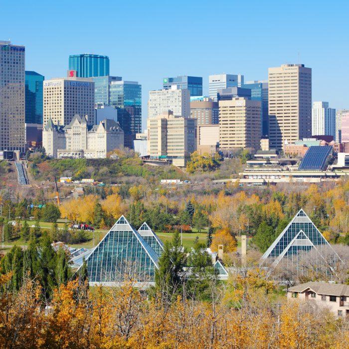 Edmonton Alberta Location