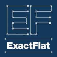 ExactFlat logo