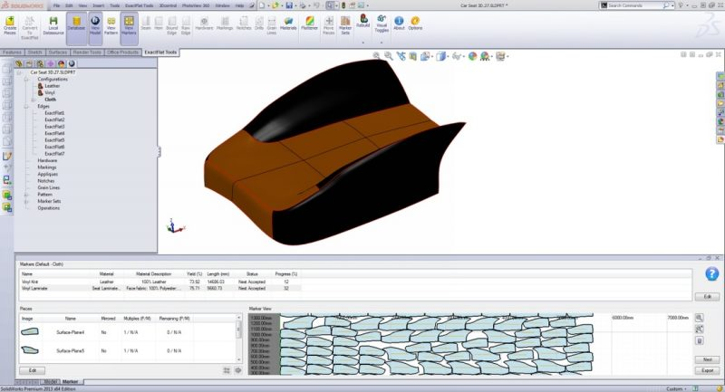 ExactFlat Modeling in SOLIDWORKS
