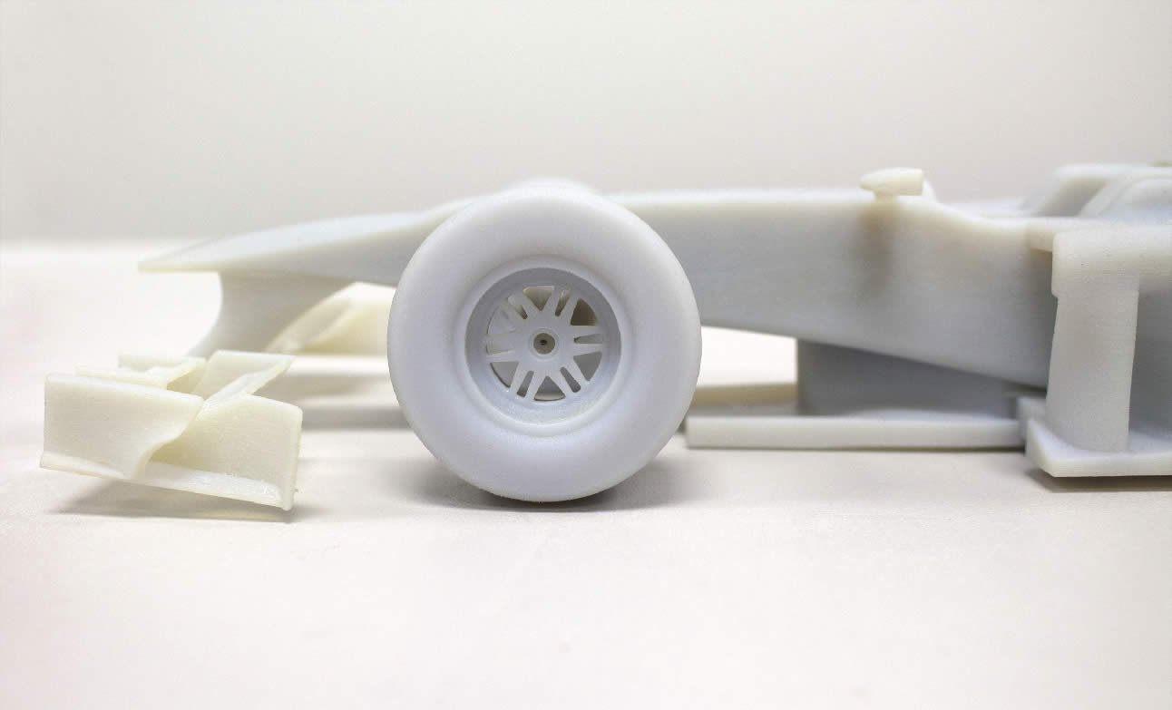 Creating a precise model of an F1 Car with an Artec 3D Scanner