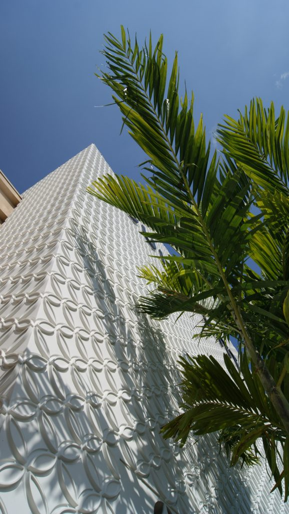 Louis Vuitton Florida Façade and Architectural Stairs