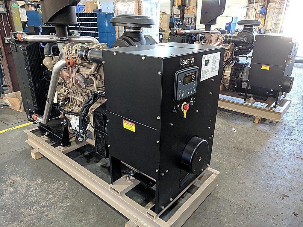 Frontier heli-skiing generator set