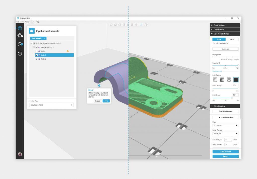 GrabCAD Print Advanced FDM