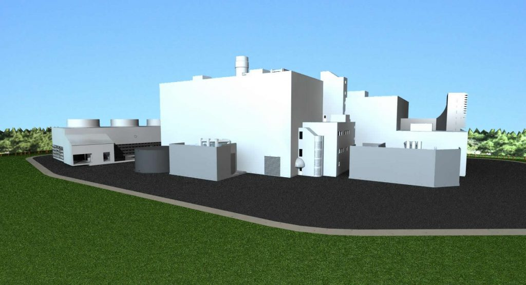 Greenfield South Power Plant Design in Mississauga, Ontario