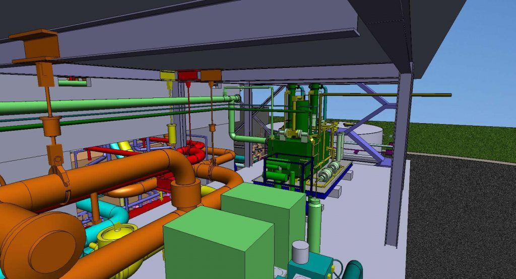 Greenfield Plant Inernal View