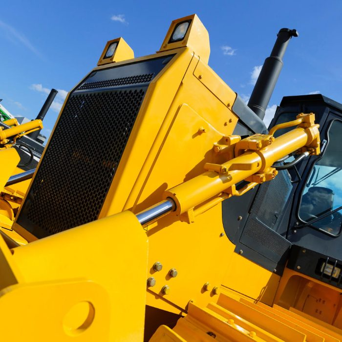Heavy equipment additive manufacturing