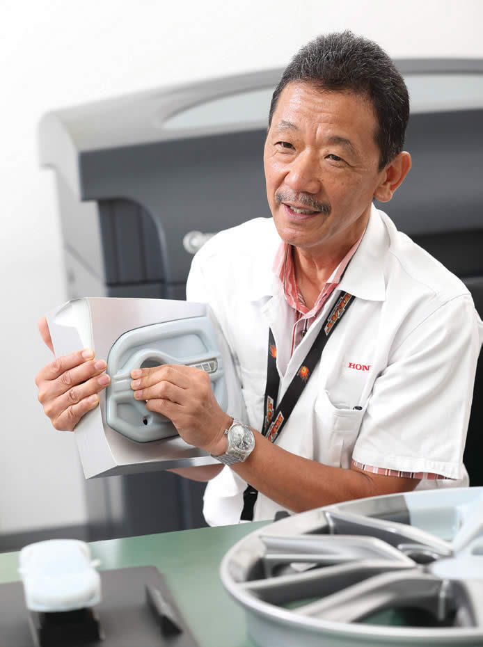 Hiroshi Takemori, senior design researcher, product  planning department