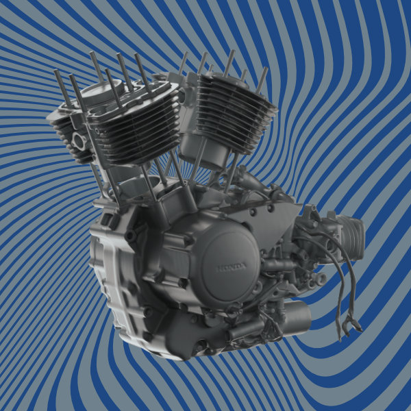Honda Engine 3D Scan