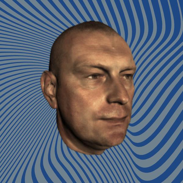 Human face scan