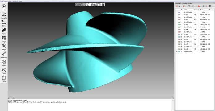 3D Model of the Impeller