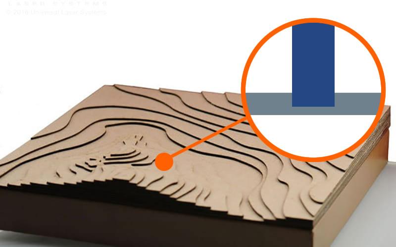Laser paper engraving
