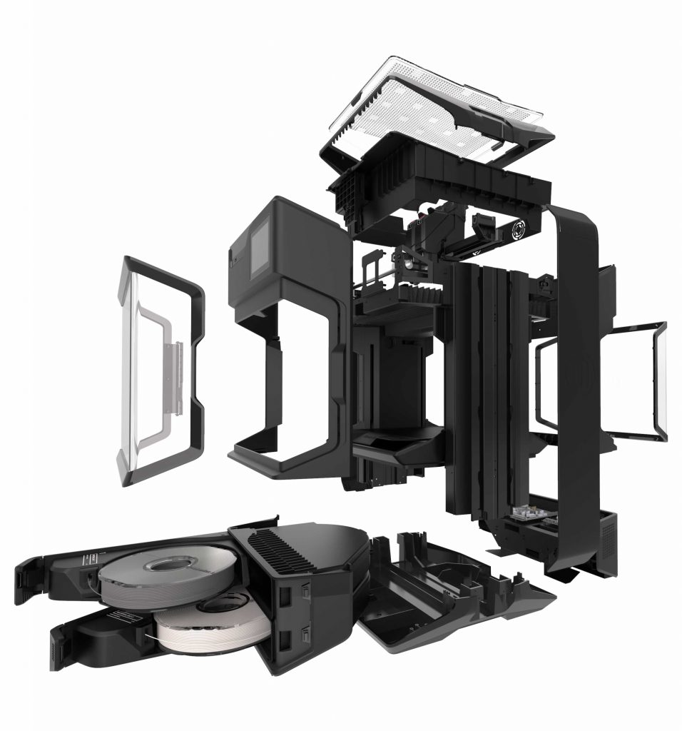 MakerBot Make exploded view