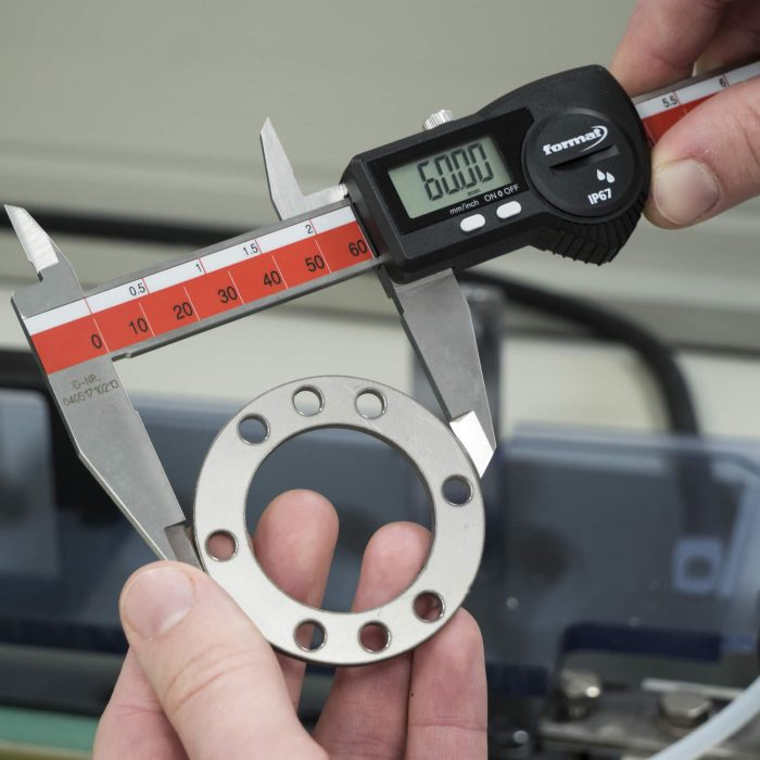 Measuring a part for PMI