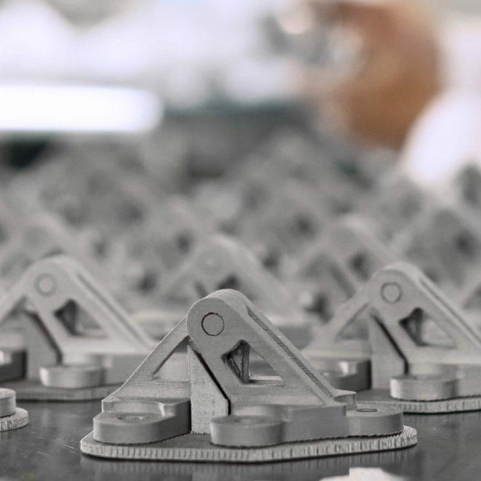 3D printing metal finishing