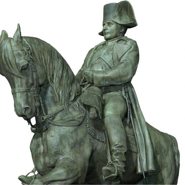 Napoleon monument scanned model