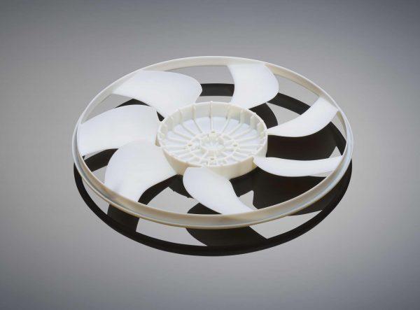 Objet1000 radiator fan bottom