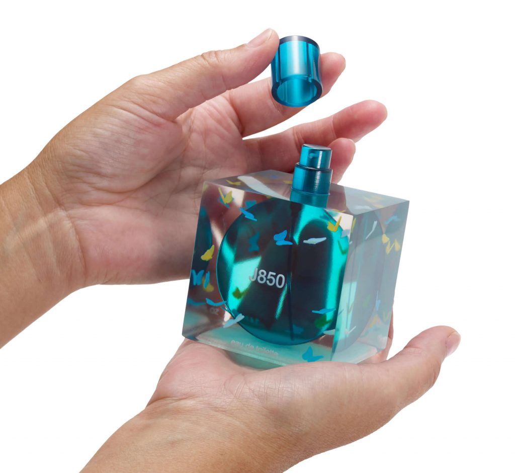 Perfume bottle prototype 3D printed model