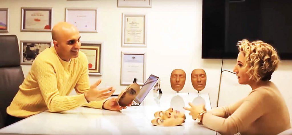 Plastic surgery 3D printing