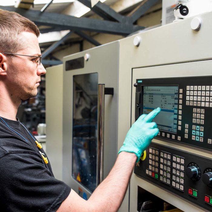 Programming CNC Machine Smart Manufacturing