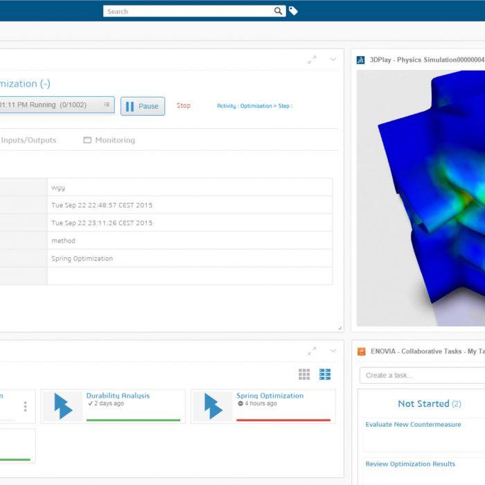 Cloud Simulation Foundation Dashboard