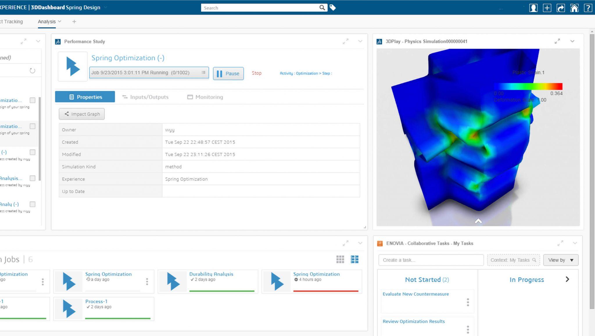 Simulation Foundation Dashboard