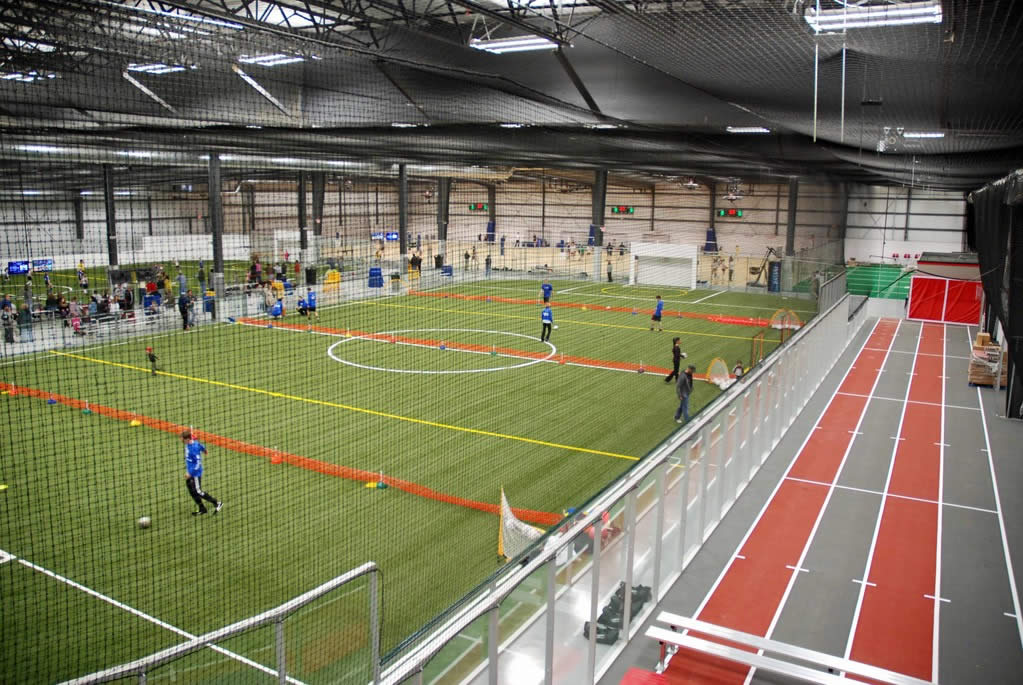 Lean manufacturing, robotics, and SolidWorks software have allowed Sport Systems to branch out into new markets like indoor soccer, one of Canada's fastest-growing sports