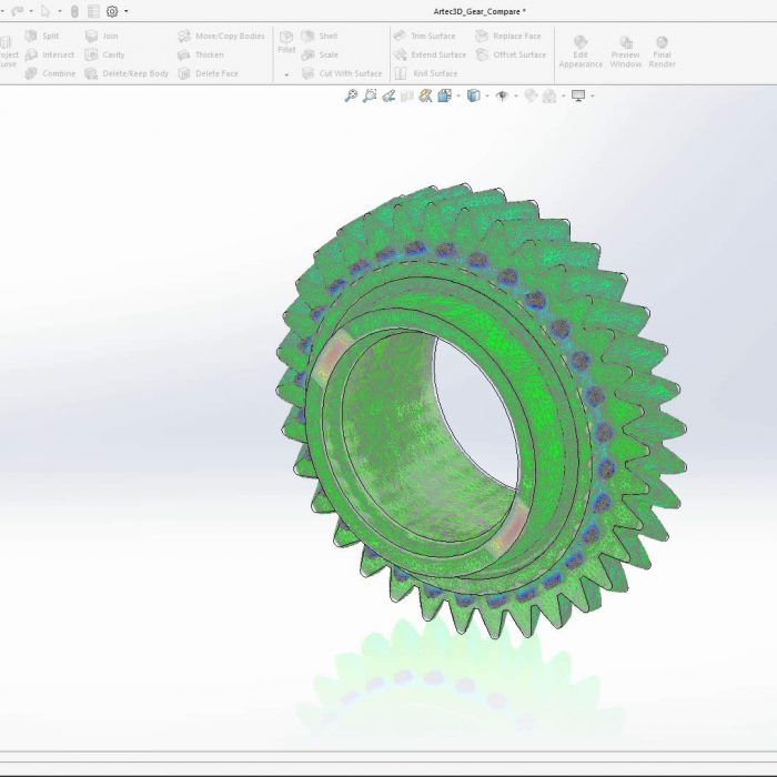 SOLIDWORKS 2020 Decimation