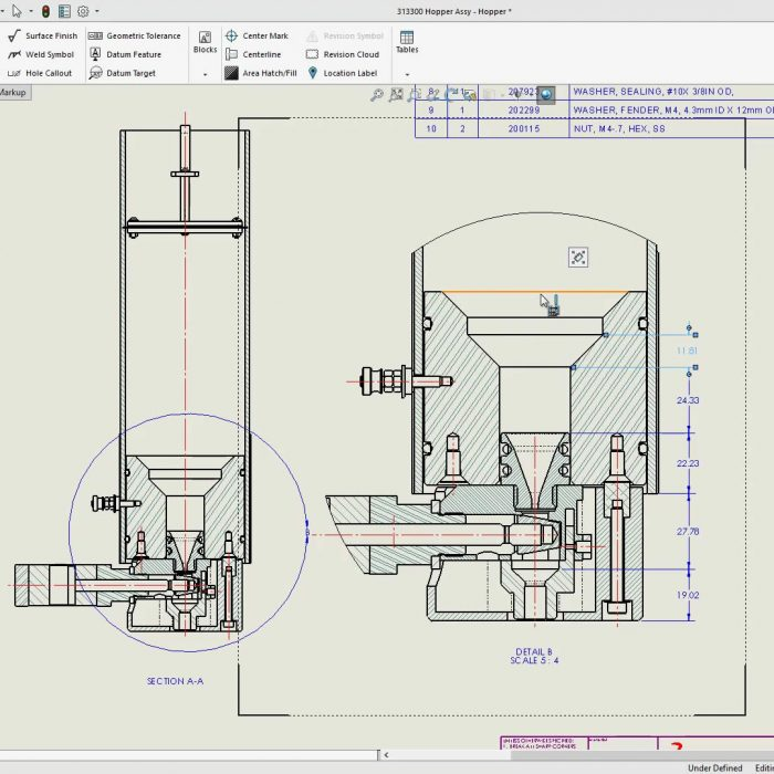 SOLIDWORKS 2020 Drawings