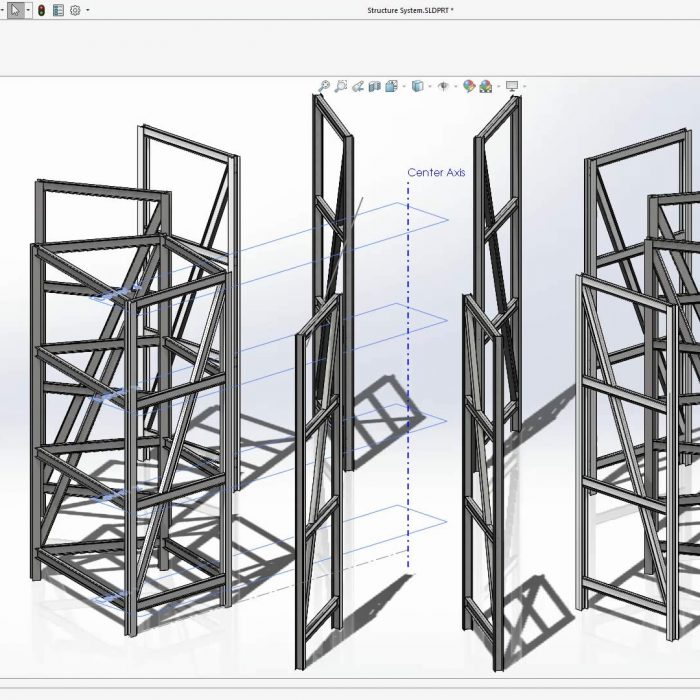 SOLIDWORKS 2020 Structure System
