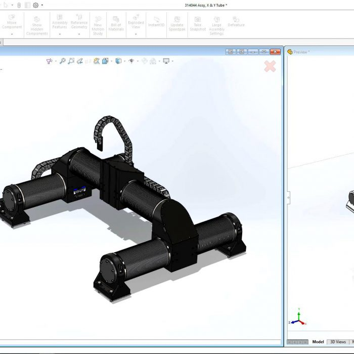 SOLIDWORKS Large Assembly Import Geometry