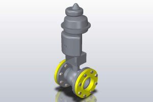 SOLIDWORKS Ball Valve