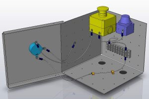 SOLIDWORKS Electrical Routes