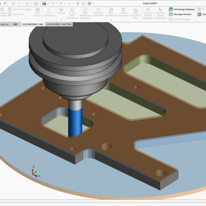SOLIDWORKS CAM 2021