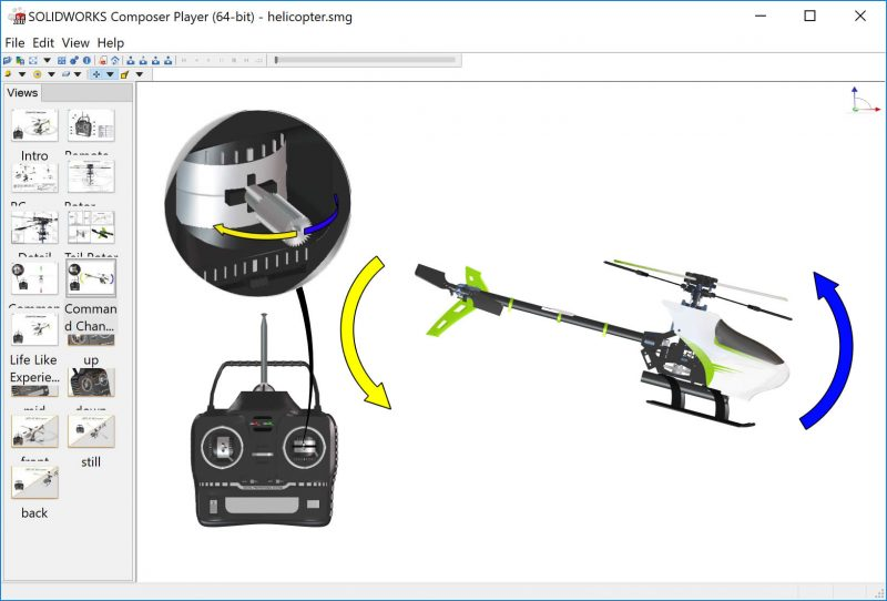 SOLIDWORKS Composer Interactive View
