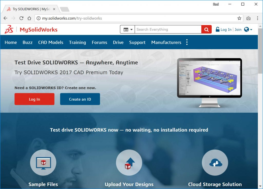 SOLIDWORKS Free Trial