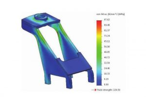SOLIDWORKS Frequency Analysis