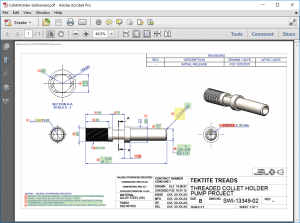 SOLIDWORKS Inspection Holder Example