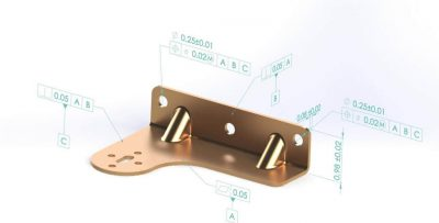 SOLIDWORKS MBD Example Hinge