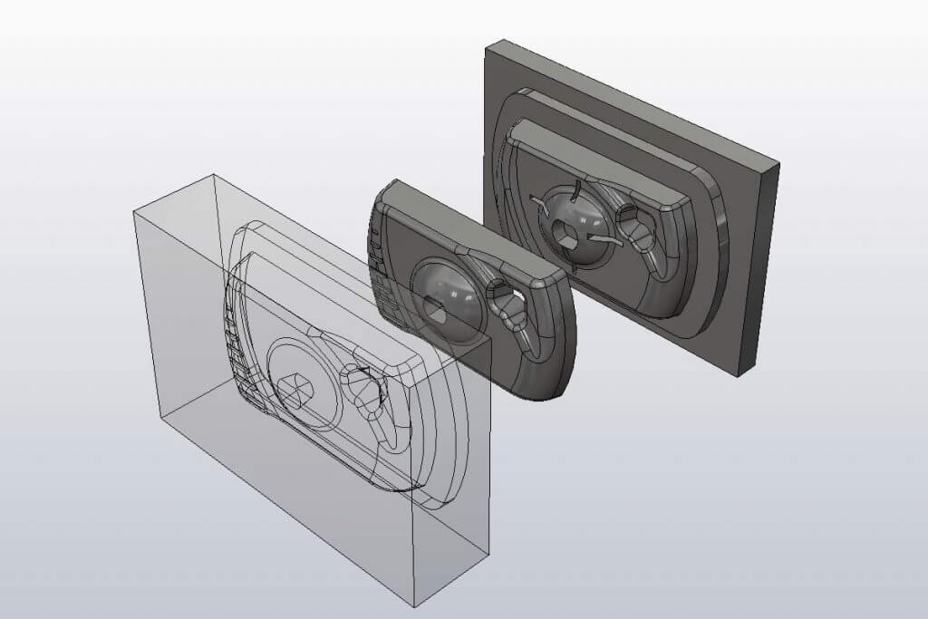 SOLIDWORKS Mold Design Training includes Tool and Die Production