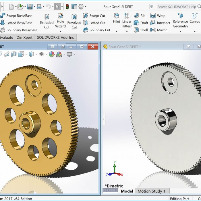 SOLIDWORKS Part Configurations