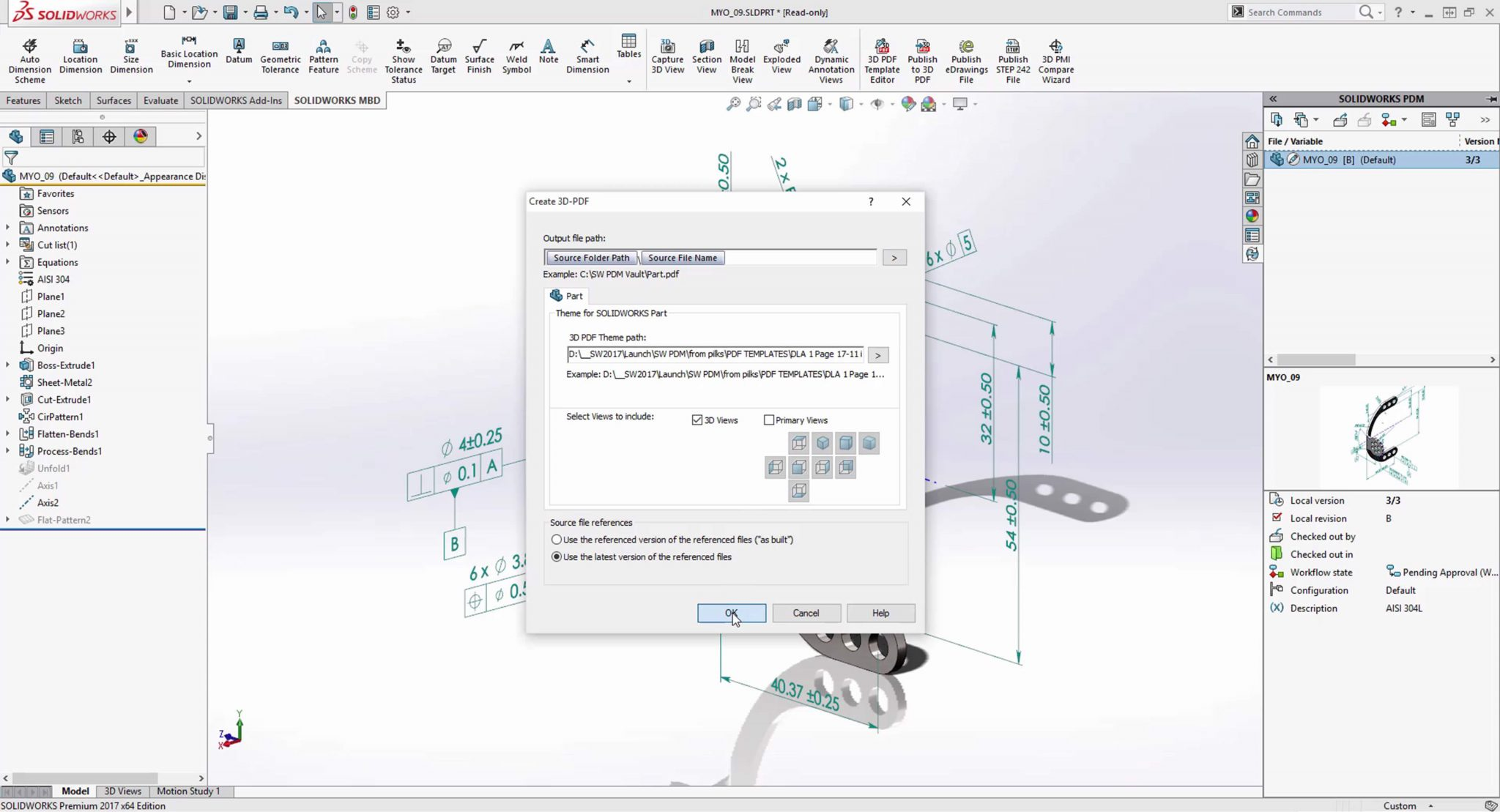 SOLIDWORKS PDM Neutral File