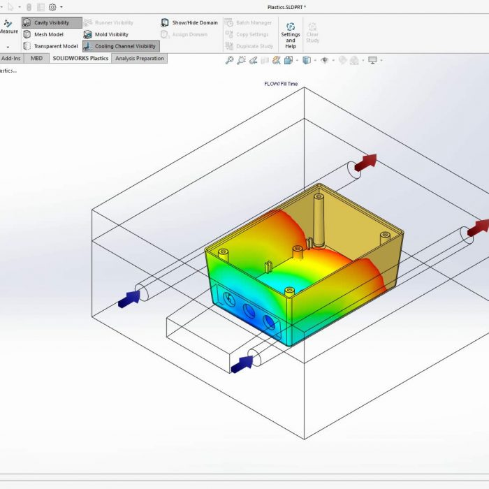 SOLIDWORKS Plastics 2020 Geometry Based Conditions