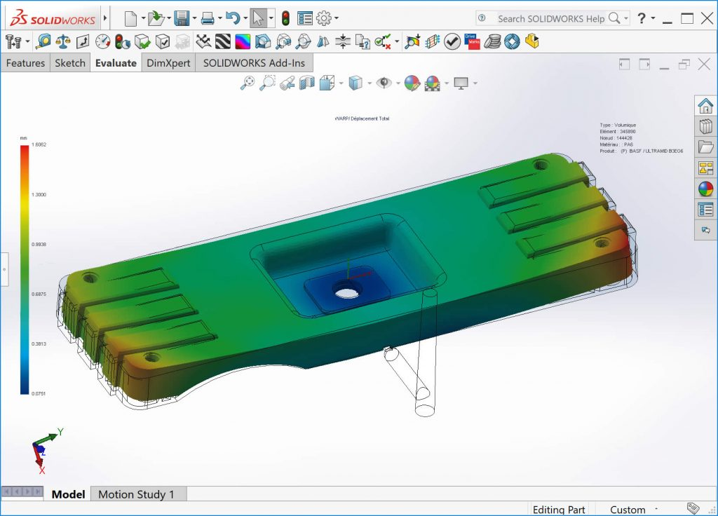 SOLIDWORKS Plastics Premium Plastic Part Design