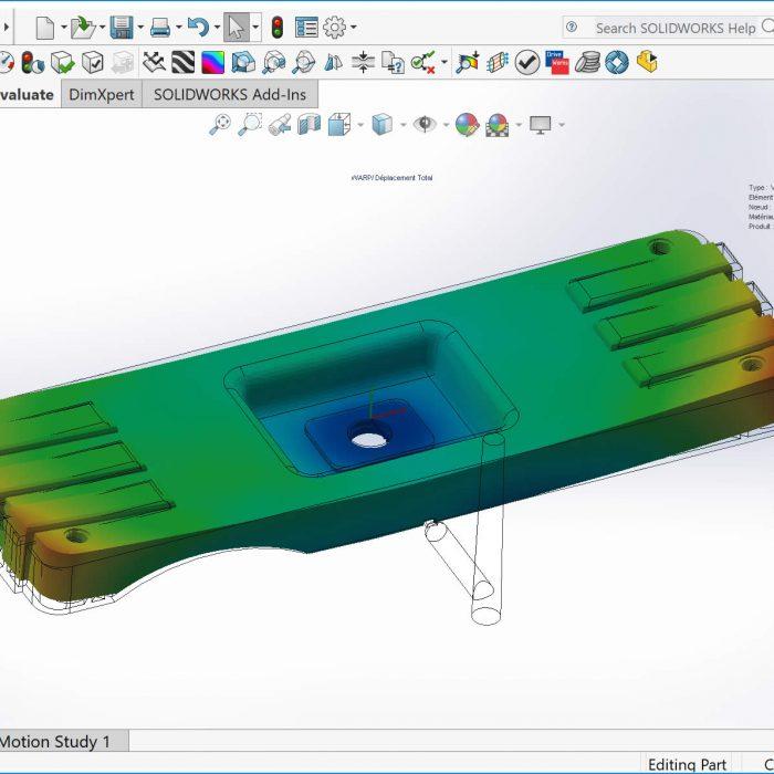SOLIDWORKS Plastics Premium Plastic Part Design