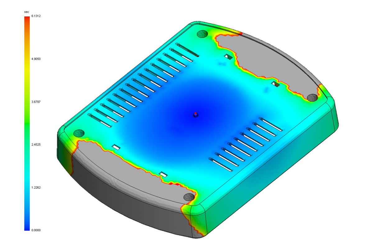 Solidworks Plastics Course For Analyzing Injection Molded Parts Process Flow Diagram Reaction Moulding
