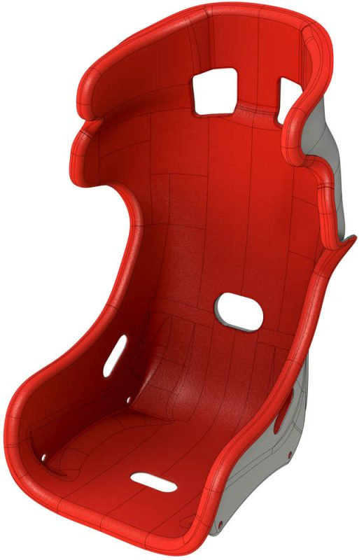 SOLIDWORKS Racing Seat