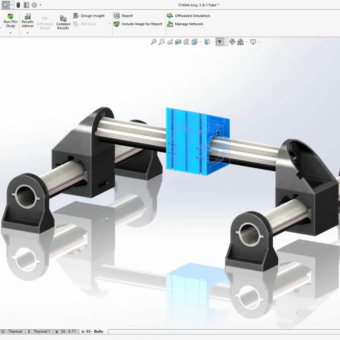 SOLIDWORKS Simulation 2020 Distributed Coupling