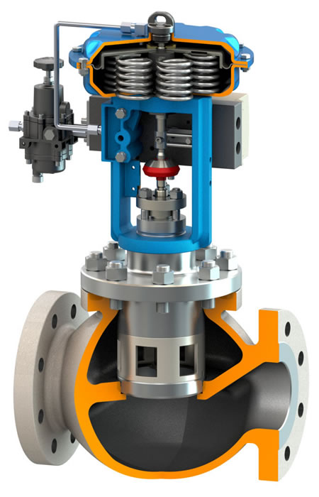 SOLIDWORKS Valve Model