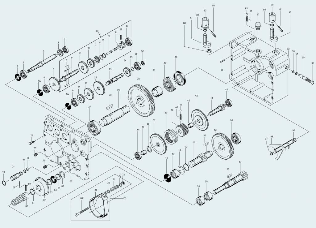Spare parts catalog design